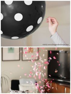 cute gender reveal idea!