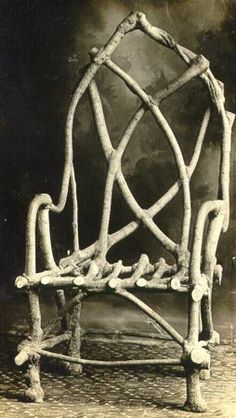"The Chair that Grew, by John Krubsack. A banker and a farmer, John Krubsack in Wisconsin is believed to have created the first chair grown, rather than manufactured. In 1903 he started to grow this chair and it was ""harvested"" in 1914. It has a remarkable story."
