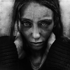Lee Jeffries portraits of the homeless.