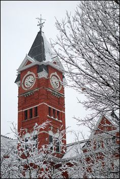 Samford Tower, Auburn University, Alabama