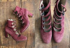 edwardian inspired 80s boots