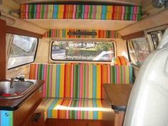 Camper interior by Bamboo