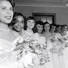 Harlem Debutantes in the 1950s.