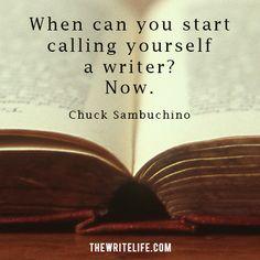 Ok-- I am a writer. :-)