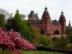 Castle of Aschaffenburg - Germany