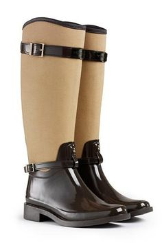 10 chic rainboots that make up for bad weather