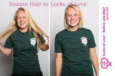Donate Hair to Locks of Love