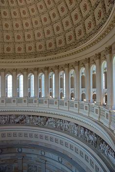 Rotunda of US Capitol Building, Washington, DC