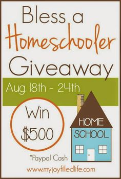Suburban Stereotype: Our laid-back method to home schooling and a HUGE cash giveaway!