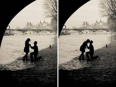 engagement pictures in Paris.