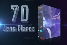 Check out 70 Lens Light Flares Bundle by AN Productions on Creative Market