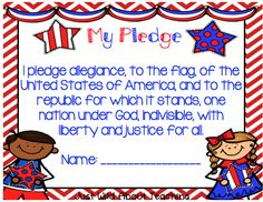 Just Wild About Teaching: United We Stand - A Patriotic Craftivity!