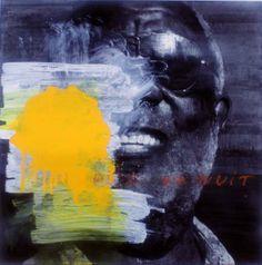 "François Bard, Toute la nuit, 2012, Mixed Medium on Paper, 23"" x 22¾""  #Art #BDGNY #BDG #Contemporary #Painting"