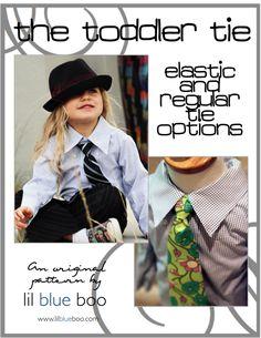 Make ties to match girl skirts
