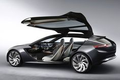 The Opel Monza concept that will be presented during the Frankfurt Auto Show running through Sept. 22, 2013.