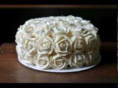 How to Make Buttercream Roses - YouTube