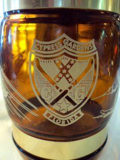 Vintage Cypress Gardens Florida Mug by RetroRosiesVintage on Etsy