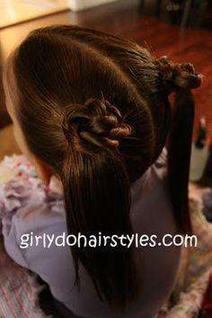 Cute girly hairstyles