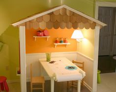 Playroom Craft Area