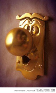 i want this doorknob!