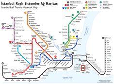 Istanbul Rapid Transit Map (schematic) - File ...