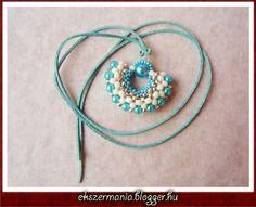 Cómo tejer colgante cruz | perlas trenzadas