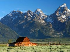 Old homestead Barn in Grand Teton Natl. Park.