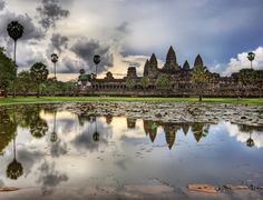 Angkor Wat, Cambodia-great to combine with Vietnam and/or Thailand
