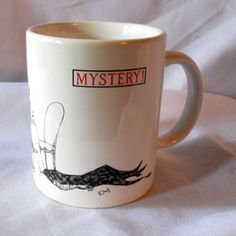 Edward Gorey designed PBS Mystery! show mug