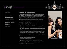 Image consultancy website - designed and built by Coventry web design company, Design One For Me
