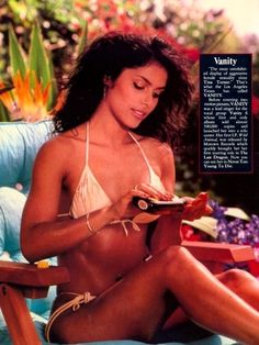 "Vanity Bikini Scene ""Never Too Young to Die"""
