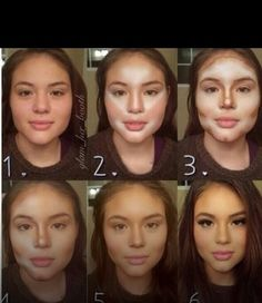 makeup for round faces - Google Search