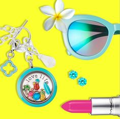 Time to change your charms to show your summer colors!