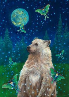 Spirit Bear by Cathy McClelland