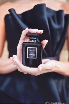 { little black dress + Chanel }