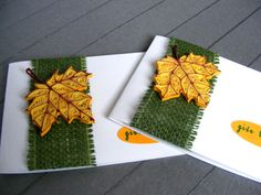 Thanksgiving / Autumn set of 2 Quilling Cards  by RollingIdeas, $10.00