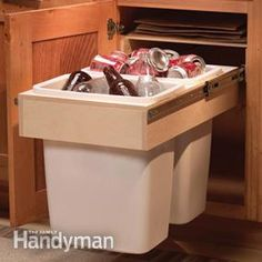 I love this! Organize Kitchen Storage With Kitchen Cabinet Rollouts