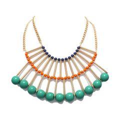 penelope bib necklace: gift idea