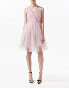TULLE DRESS - Woman - New this week - ZARA Czech Republic
