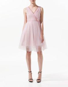 TULLE DRESS - Woman - New this week - ZARA Czech Republic