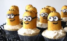 despicable me twinkie minion cupcakes Despicable Me 2: Easy Crafts for Kids of All Ages