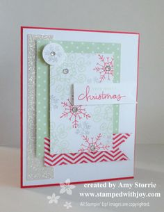 Endless Wishes christma card, card class, snowflak