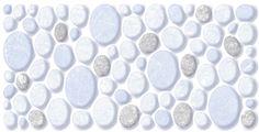 ODH Statuario Pebbles Blue HL Orient Tiles