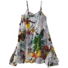 Desigual Girls 2-6x Summer Tank Dress