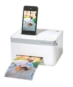 The iPhone Photo Printer. This is my kind of fun gadget.