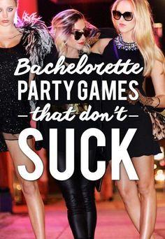 Bachelorette Party Games That Aren't Lame