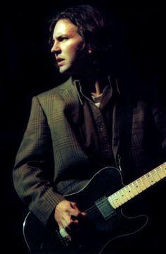 #PearlJam #EddieVedder Pensive plus guitar.