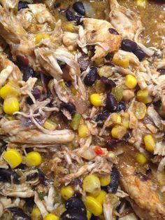 Advocarerunner: 24 Day Challenge Chicken Crock Pot Tacos Advocar Recip, Crock Pots, Main Dish, Healthi Eat, Dinner Recip, Pot Taco, Healthi Food, Slow Cooker, Healthi Dinner