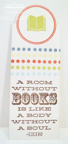 Bookmark Duo Die-namics and Stamp Set - Jody Morrow