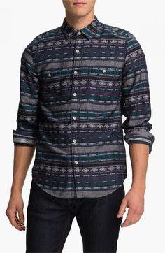 Topman Jacquard Woven Shirt
